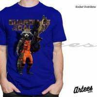 Jual Baju Kaos 3D Tshirt Rocket | Kaos Guardian Of The Galaxy | Kaos 3D Murah