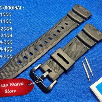 Tali Strap Jam Casio SGW-300 - SGW 300 - SGW300 Original Bonus Pen