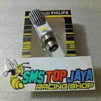 harga Bohlam Led / Lampu Depan Led Philips H6 Mio,vario,beat,jupiter Z/mx,fu Tokopedia.com