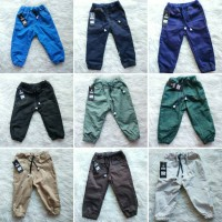 Jual celana jogger chino anak bayi semi jeans Murah