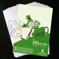 EIEM Manuscript Paper A4 / manga paper / kertas komik / kertas gambar