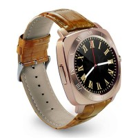 Smart watch DZ10 / Smartwatch X3 Sim Card Memory Card Gold Brown KEREN