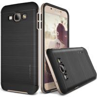 Verus Samsung Galaxy A8 High Pro Shield Shine - Hitam-gold