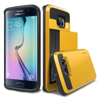 Verus Galaxy S6 Edge Case Damda Slide Special Yellow