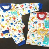 LIBBY Setelan Panjang S,M,L kecil (6-18 bulan) Pakaian Bayi Libby (1