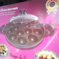 alat perlengkapan dapur  cetakan takoyaki 15 lob via gojek wajan