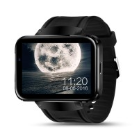 Android Smart Watch DM98 Heart Rate / Smartwatch DM 98 Full Black TOP