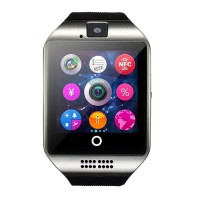 Smart Watch Q18 / Smartwatch DZ09 U9 Pro Watch Black Silver TERCANGGIH