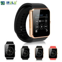 Smartwatch GT08 - Full Black Camera SIM SMS NELPON TERCANGGIH