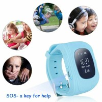 Smartwatch Q50 for Kids with GPS Sim Card - Green TERCANGGIH TOP BGT!!