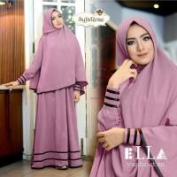 Suki Dress Hijab Syfarose - Ungu Berkualitas Murah