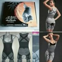Jual Slimming Suit Natural Bamboo / Korset Full Body Murah