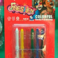 Jual Body Painting Clay Crayon 6 colors Murah
