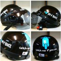 harga Helm Chip Catok Vespa I Love My Bike Tokopedia.com