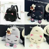 backpack cat / tas ransel cilukba / tas wanita