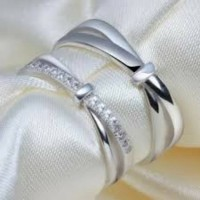 cincin kawin perak, cincin tunangan, cincin couple termurah, terbaru