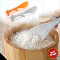 Centong nasi lucu / Sendok Nasi Bubur unik Bentuk TUPAI