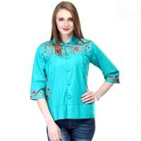Harga 924srs baju kemeja fashion pesta casual formal perempuan wanita | Pembandingharga.com