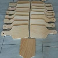Jual Talenan Kayu Pinus 30x15cm MURAH TEBAL / Wooden Cutting Board Murah