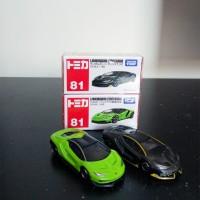 Tomica Takara Tomy Reguler 81 Set Lamborghini Centenario Black Green