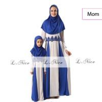 jual baju muslim gamis anak perempuan wanita koko couple AGD3328