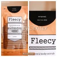 Jual Fleecy Whitening Body Scrub Coffee / Lulur Pemutih Fleecy Coffee Murah