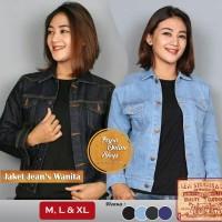 Jual Jaket Jeans Levi's Wanita Hitam   Bioblitz   Biru Dongker   BlueBlack Murah