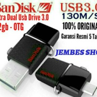 Jual Sandisk Ultra Dual USB DRIVE 3.0 32gb - OTG Murah