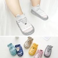 Kaos kaki pendek anak model sepatu anti licin motif hewan murah ACA045