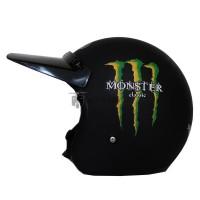 Helm Bogo JPN Motif Monster Energy Klasik + Pet Fino Panjang