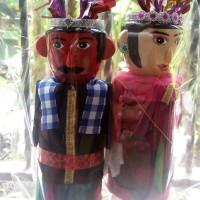 Jual Boneka Ondel-Ondel Betawi 1 Pasang Murah