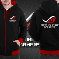 JAKET DISTRO SWEATER ASUS ROG STRIX LIMITED