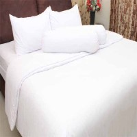 Rosewell Bed Cover Microtex Polos Double Putih (Bed Cover Only)