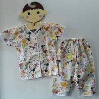 Baju Tidur Anak Laki Laki Perempuan Disney Tsum Tsum Pooh Baby Piyama