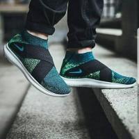Nike Free Run Motion Flyknit 2017 Clorin Blue Premium Original