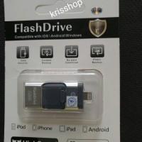 Jual 3 in 1 32GB Flashdrive Flashdisk OTG for Iphone 5,6 ,Android, USB Murah