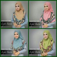 Harga hijab modern jilbab instan 2 face new kerudung pashmina scarf   Pembandingharga.com