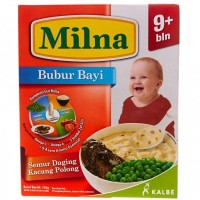 Milna Bubur Semur Daging Kacang Polong 9+ 120gr