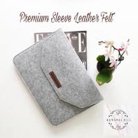 harga Sleeve Leather Felt Macbook Pro Air New 11 12 13 15 Retina Touchbar Tokopedia.com