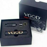 Mechanical mod VGOD kit RDTA best clone authentic(kulit jeruk)