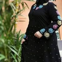 Abaya bordir swarovski