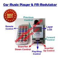 [Modulator] Car Music Player + FM Radio   Car MP3 Player