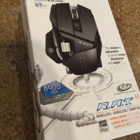 Madcatz Cyborg RAT9/RAT 9/R.A.T9/R.A.T 9 Wireless Black Matte Gaming
