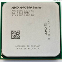 Processor CPU AMD Llano A4-3300 socket FM1 / FM 1
