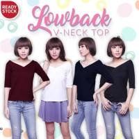 Jual Lowback V-Neck Top Murah