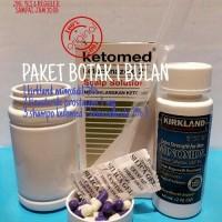 paket kebotakan finasteride 1 mg+kirkland minoxidil 5%+ketoconazole 2%