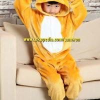 Jual Baju Tidur Anak Rilakkuma Pajamas Baju Cosplay Piyama Onesie Murah