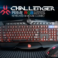 Tt Esport Challenger Prime RGB Gaming Keyboard Mouse Combo