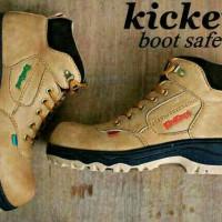 Jual Sepatu Kickers Boots Murah / Boot Safety Pria Tracking Touring Murah