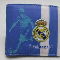 Dompet import logo timbul Real Madrid baru